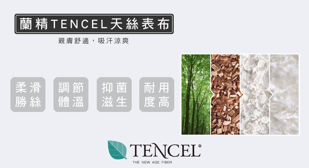 材質--蘭精TENCEL天絲表布