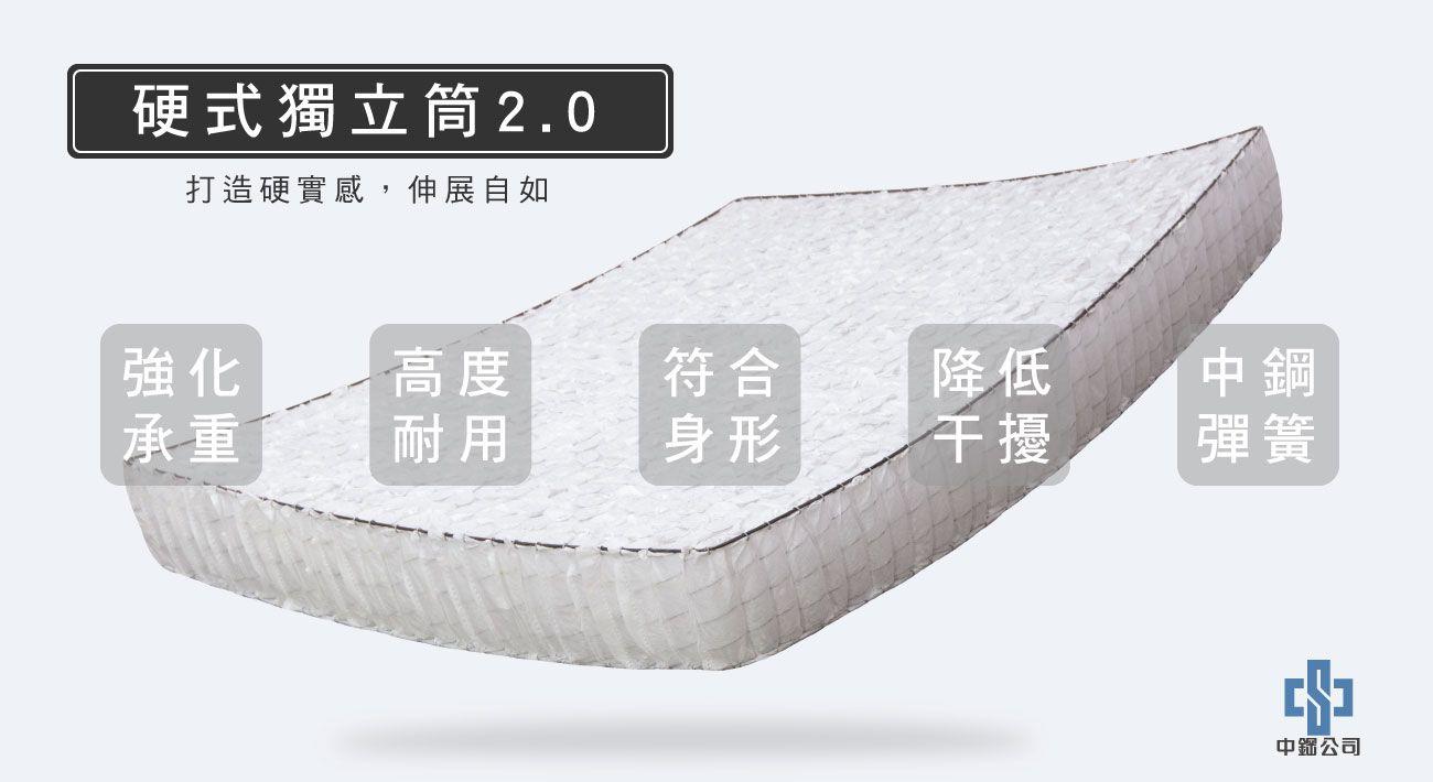 材質-硬式獨立筒2.0